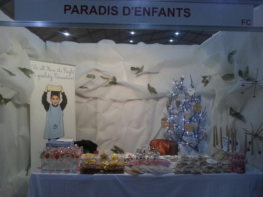 Paradis d'Enfants thanks visitors for their Support at Biel Christmas Exhibition