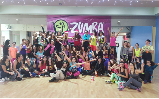 Zumbathon Christmas Charity Event for PdE